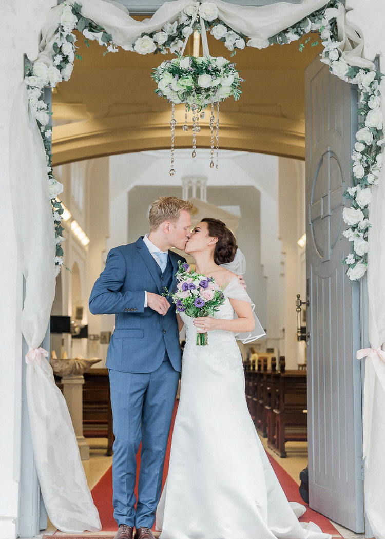 Elegant Church Wedding And Reception At Flutes National Museum Of