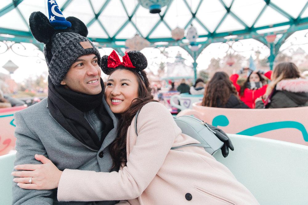 Chen Sands Paris Photographer Disneyland in Winter Engagement 10.jpg