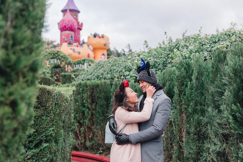Chen Sands Paris Photographer Disneyland in Winter Engagement 15.jpg