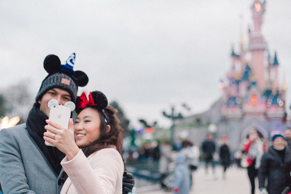 Chen Sands Paris Photographer Disneyland in Winter Engagement 19.jpg