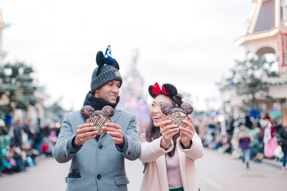 Chen Sands Paris Photographer Disneyland in Winter Engagement 21.jpg