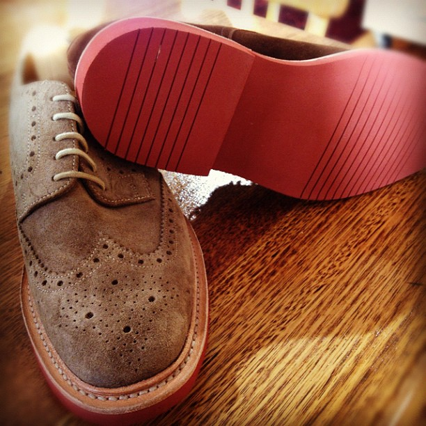 Just arrived in stock in time for winter.    Loake doing what they do best, classics with a twist.