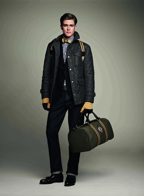 Hackett FW 2012-13    Now that is a quilted jacket!