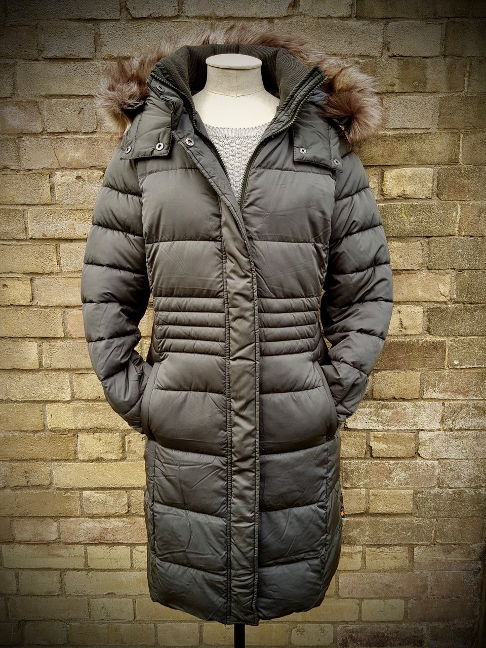 Thirlmere Long Padded Coat - £135