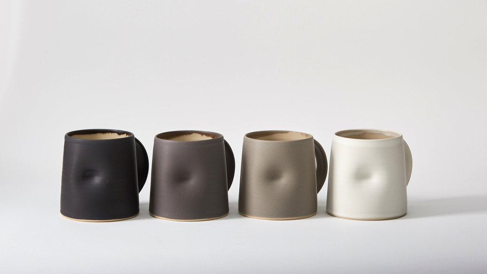 Emma Lacey - Everyday - Large Mugs in Greys