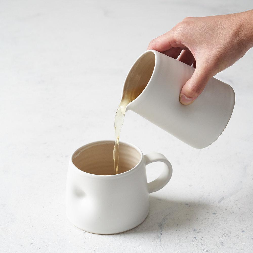 Everyday Short Cup & Milk Jug -