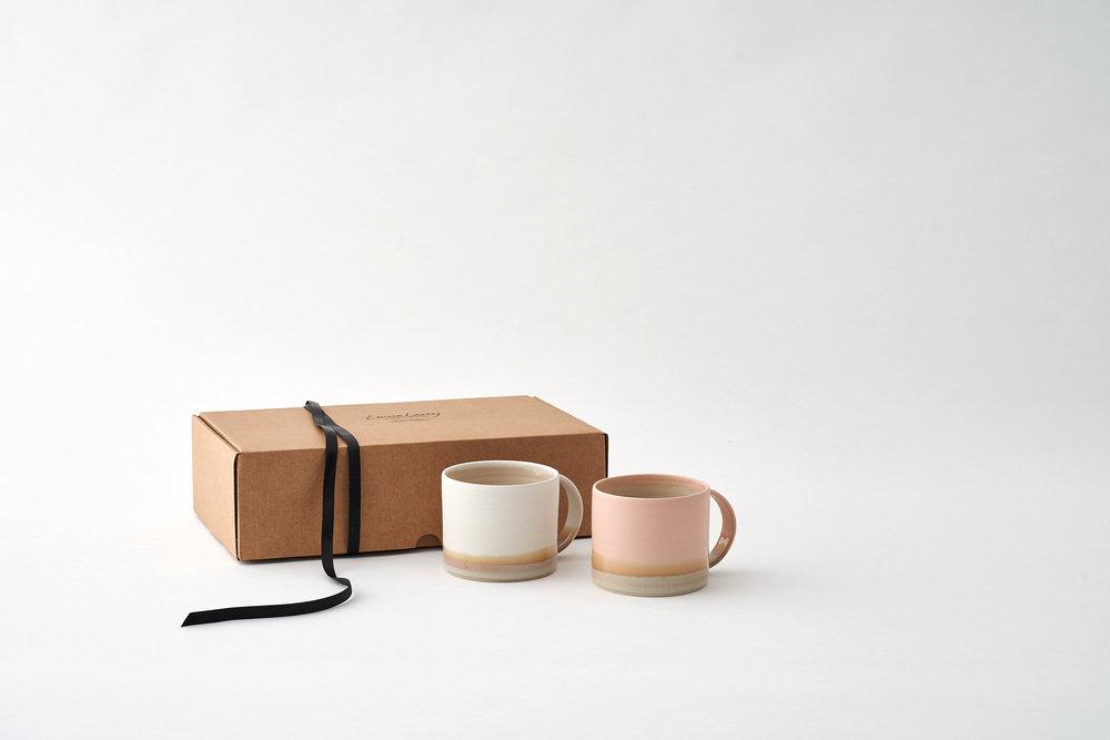 Rainbow Mug Set -