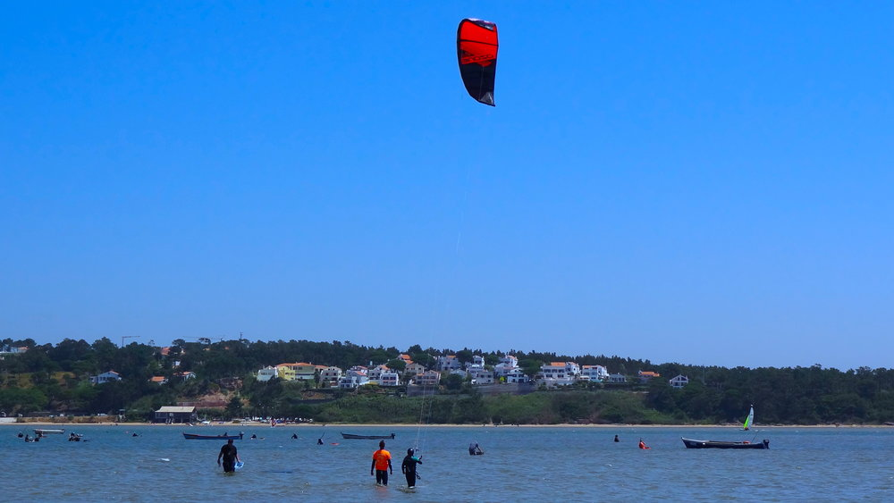 Kiteboarding school portugal