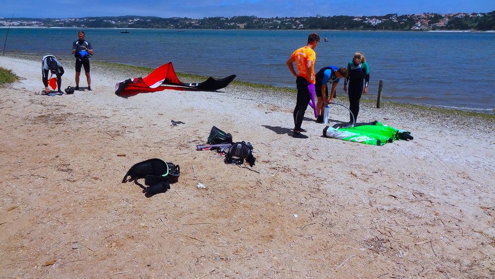 Kitesurfing lessons Peniche