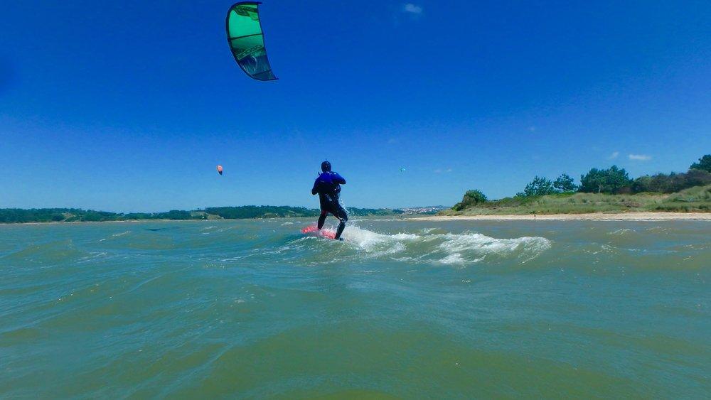 Kitesurf School Portugal - Kite Control