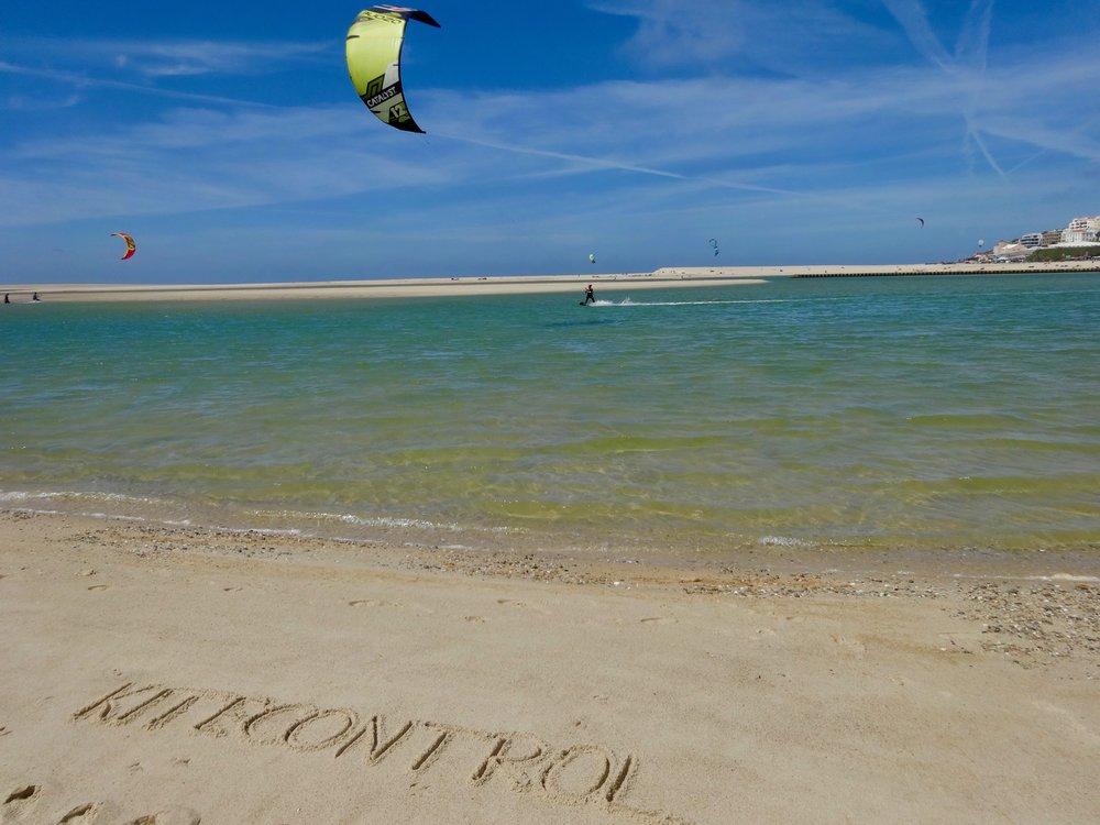 Kitesurf Obidos lagoon | Kitesurf school Lisbon | Kite Control