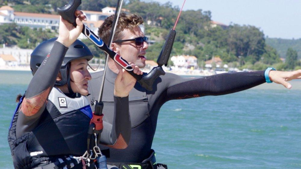 Kitesurf school Peniche - Portugal | Kite Control