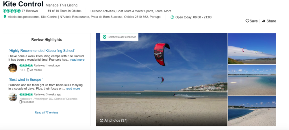 Online reviews | Kite Control Portugal.png