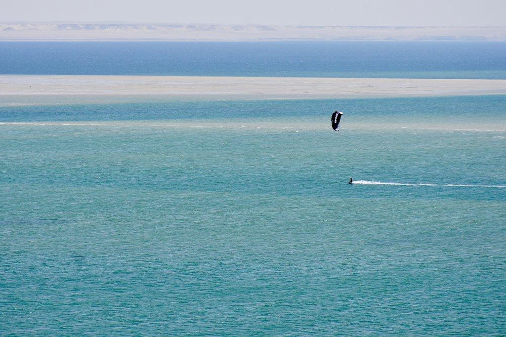 White dune downwind Dakhla Morocco | Kite Control kitesurf school.jpg