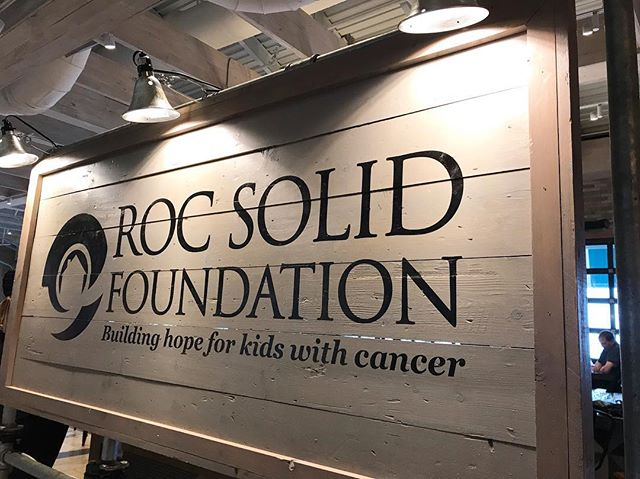 @rocsolidfoundation is hosting a FB live telethon today here at #WatersideDistrict, building hope for kids with cancer. 📞 📞 📞 Check out their profile for details on how you can support this #hrva organization.