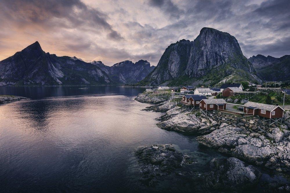 Reis til Lofoten