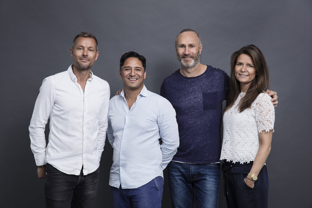 Meet the Guru's   The Guru team now consist of 4 members - Thomas, Asif, Lars & Katrine.