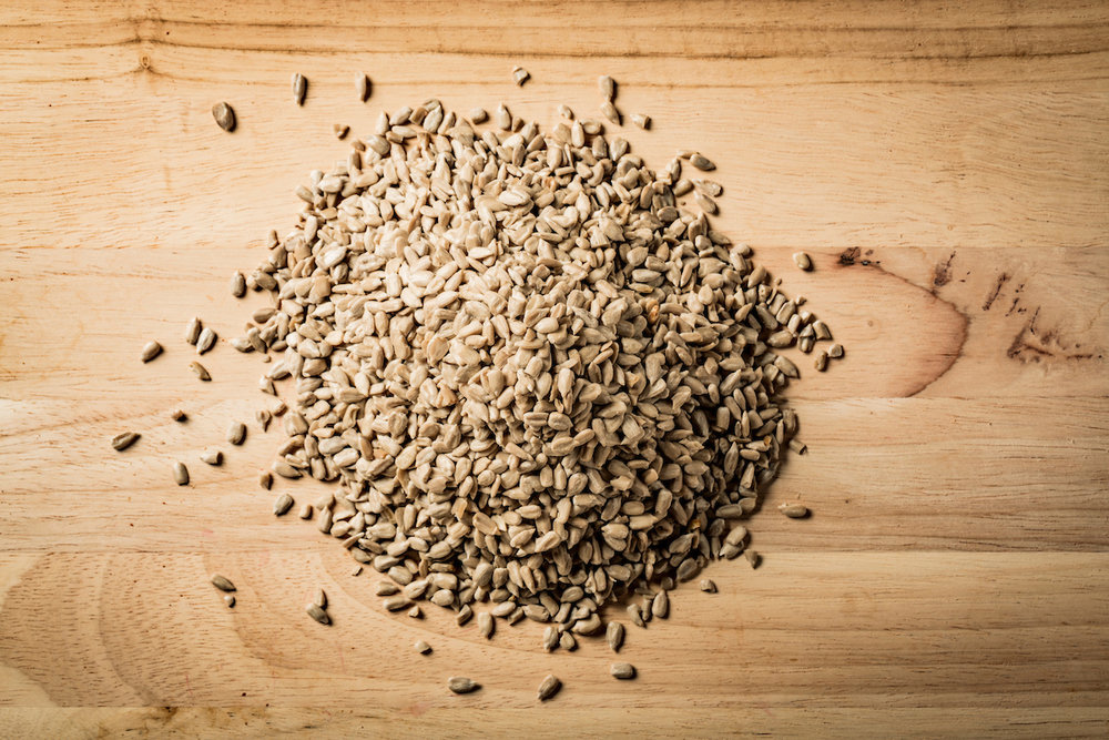 Organic sunflower seeds -
