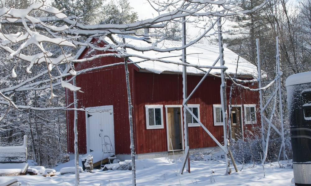East Alstead, NH's first brewery is quite possibly the only off-grid commercial brewery in the United States.