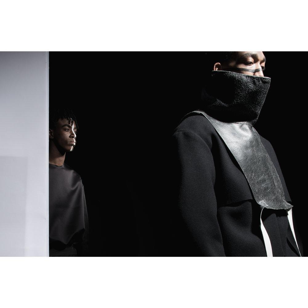 All garments :  Joycy Baker   Models :  Aris Mabiala , James Dean Fischer