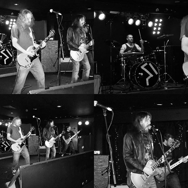 Couple of photos from our last show @pellybar when we had the privilege of playing with @nickoliveri #pellybar #beatscartel #nickoliveri #fuckthefitzroydoomscene #palaceoftheking #livemusic #rock #beers #funtimes #toomanyhashtags