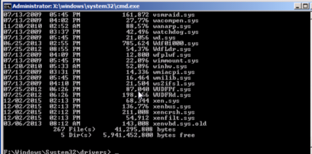 Command Line - XenServer Console