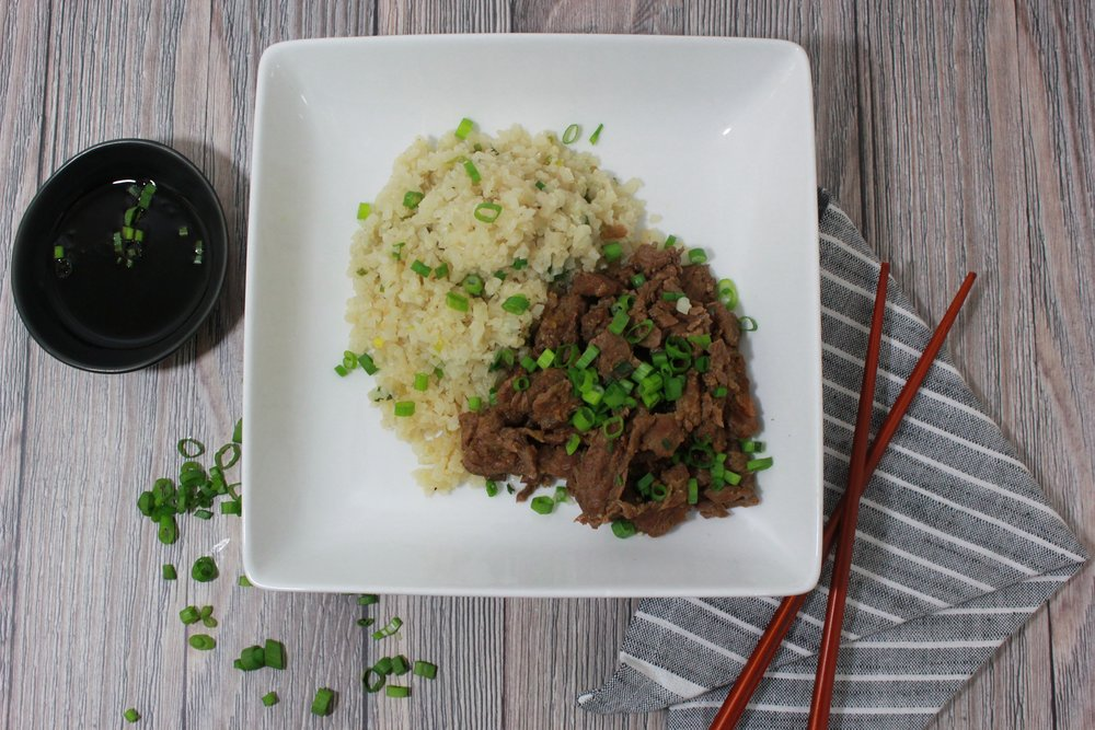 Spicy Korean Beef Bowl