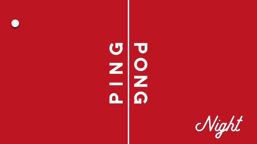 4.10./ 18.10. Ping Pong Night