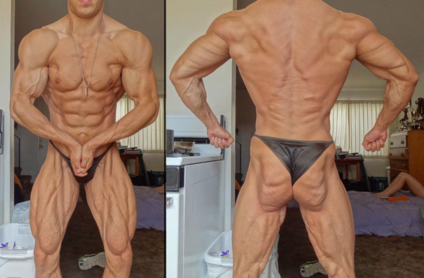 An example of someone close to essential body fat