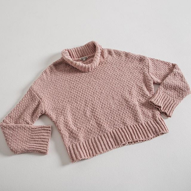 Fall statement, the Lucia Cowl Neck Sweater. #ragpoets