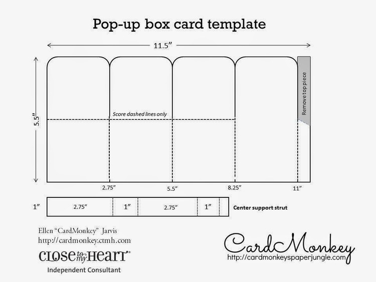 pop up box card tutorial cardmonkey s card tutorials