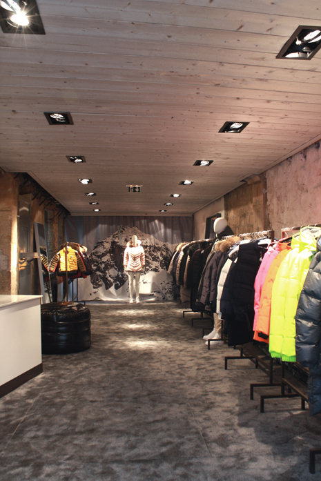 Pop Up store - Pyrenex