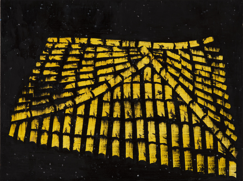 Yellow Roof With Stars