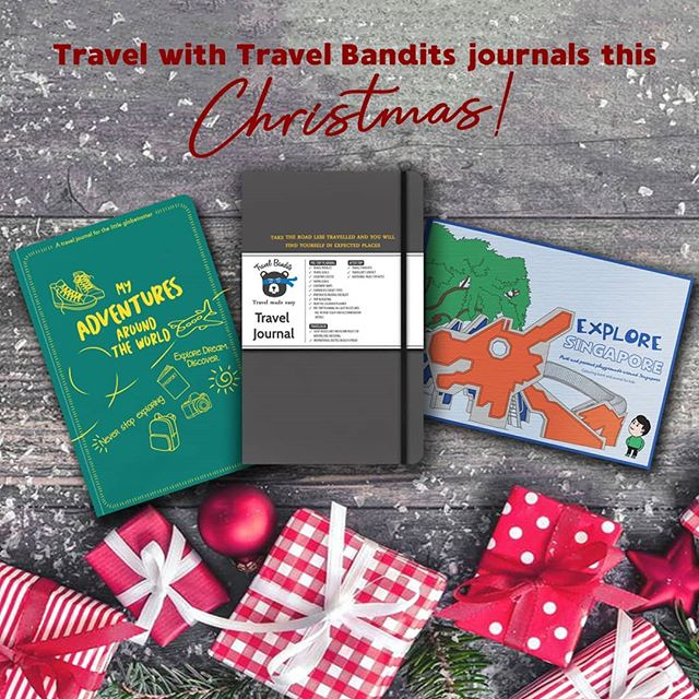 Our Travel Bandits journals make a perfect gift for the little explorer or the globetrotter in your life! 🏃‍♂️🏃‍♀️ Remember to use our code BANDITSXMAS to get 10% off your purchase all month long! It's never to early to prepare your Christmas gifts! ☃️