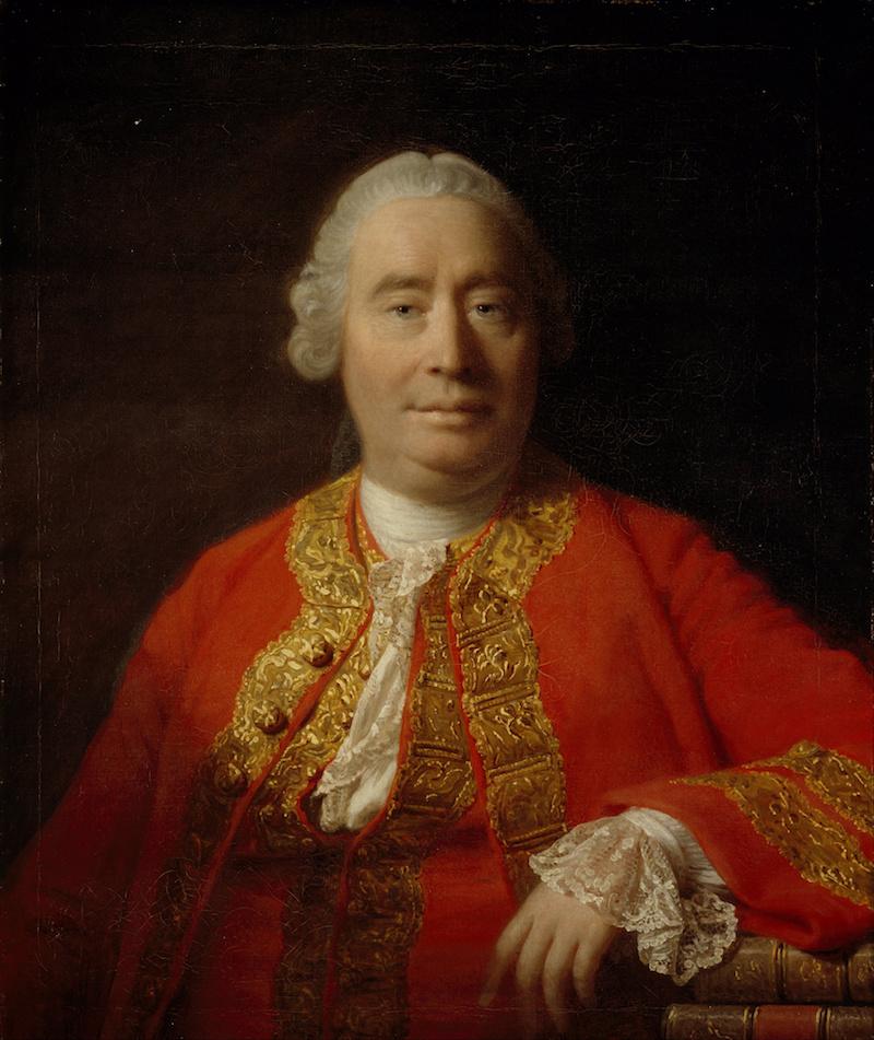 David Hume by Allan Ramsay, 1766 Wikipedia