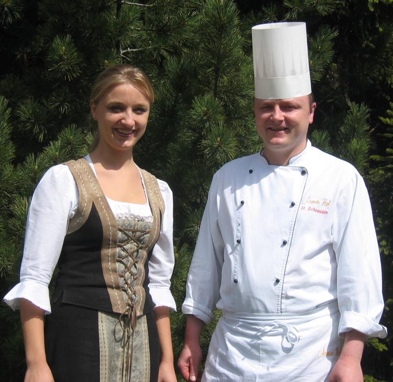 Gisela e Heinrich Schneider