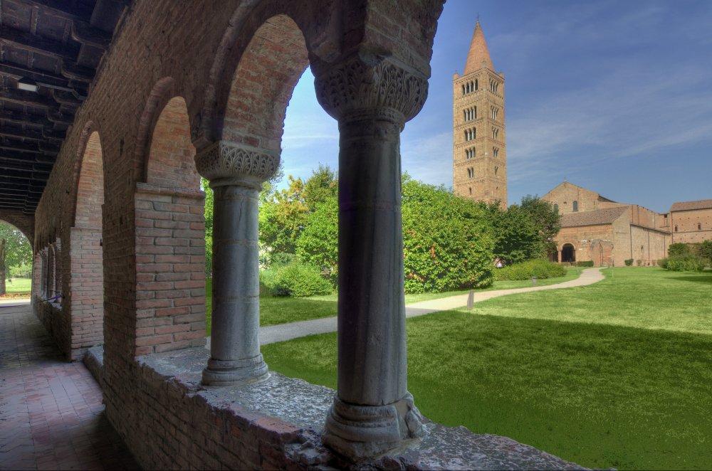 """L'Abbazia di Pomposa, """"culla"""" del Fortana -tratto da http://www.visitcomacchio.it/"""