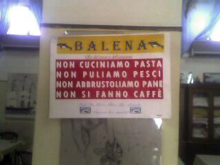 Balena, Cagliari