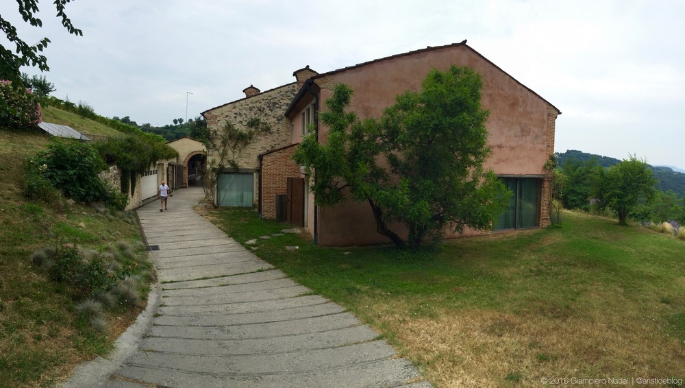 La cantina a Gambugliano, Vicenza