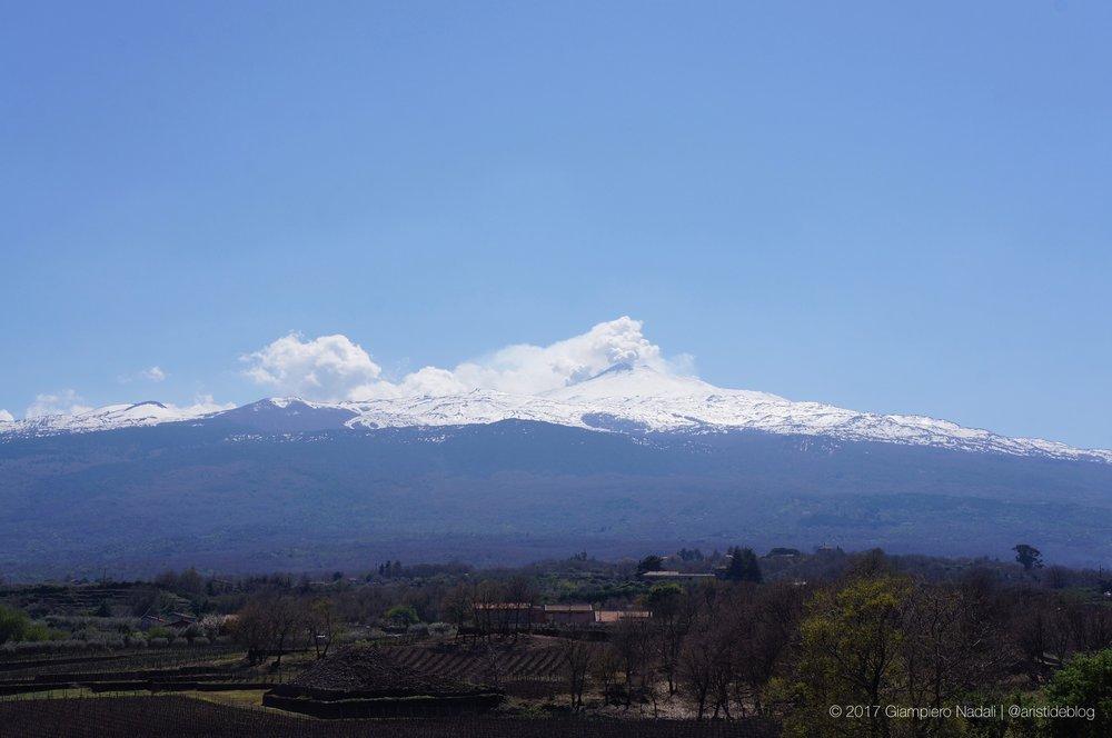 L'Etna dal versante Nord