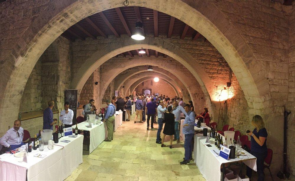 L'interno del Castello di Sannicandro