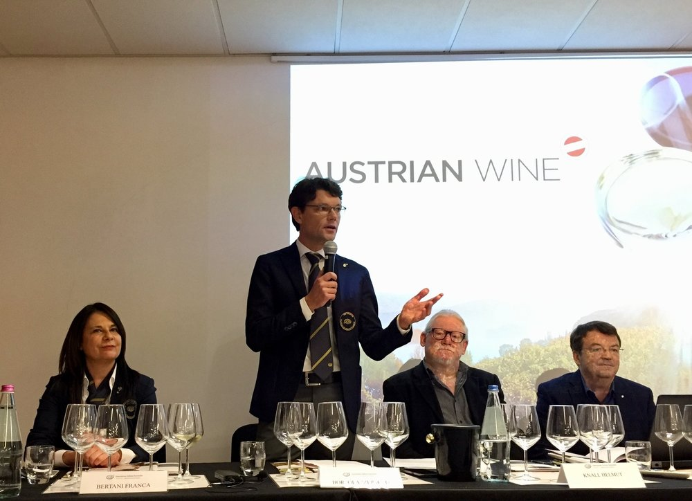 Da sinistra: Franca Bertani, Paolo Bortolazzi, Helmut Knall, Willi Klinger