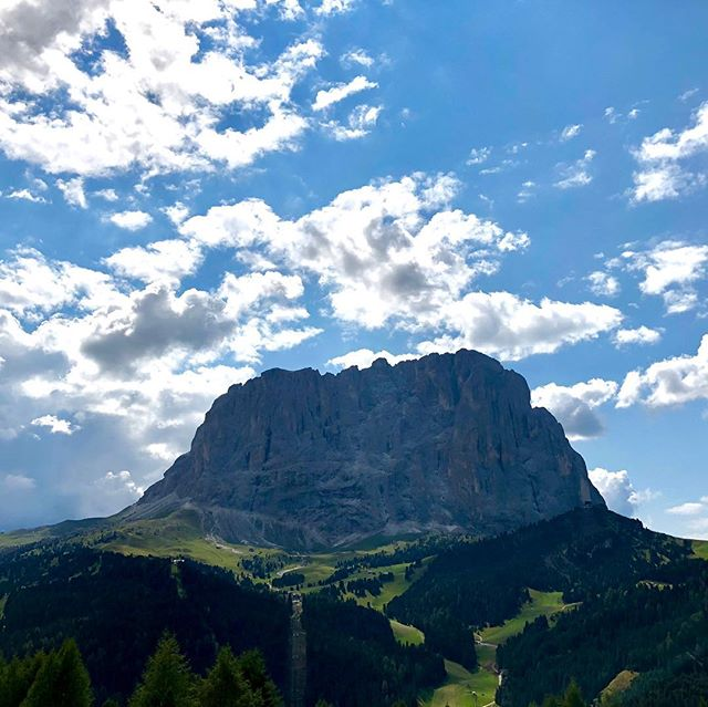 Un'istante di magica bellezza - Sassopiatto dal Plan de Gralba, Selva di Valgardena, BZ  #sassopiatto #sudtirol #altoadige #valgardena