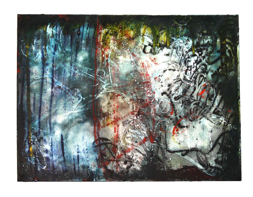 "title pending (split)  18"" x 24"", acrylic on canvas,2016"