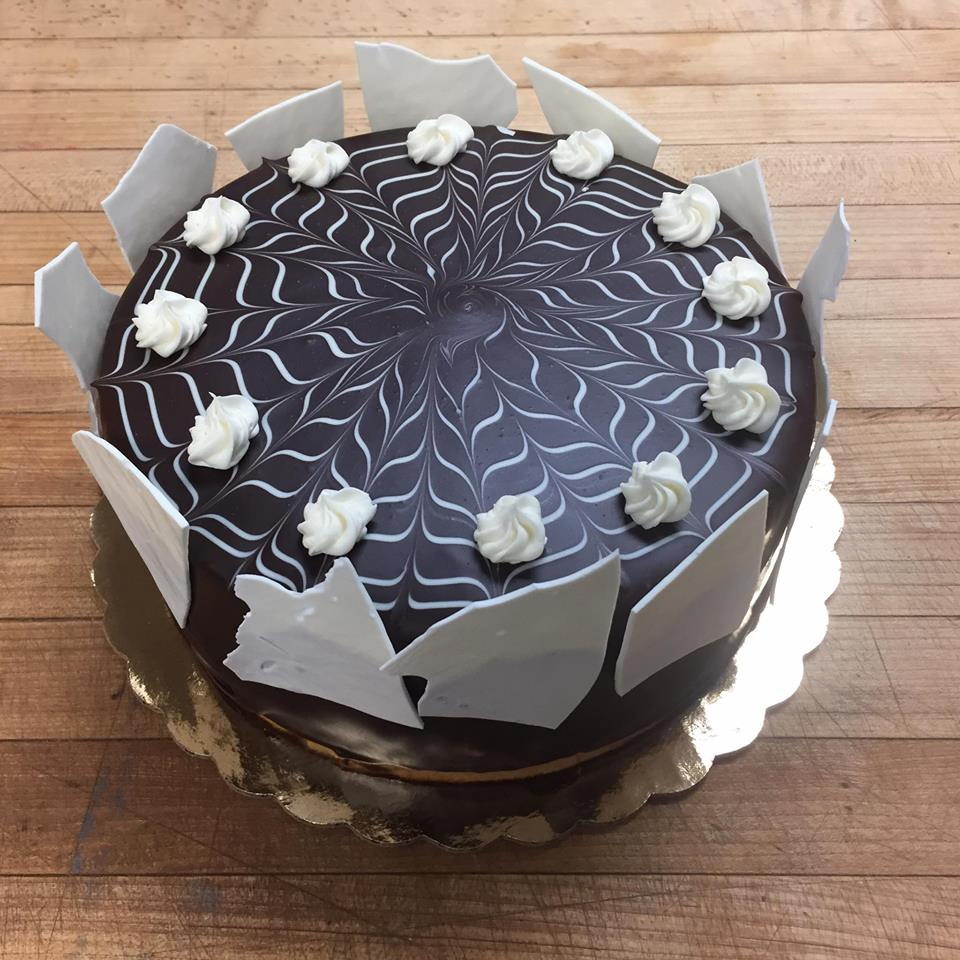 Marble Mousse Cake