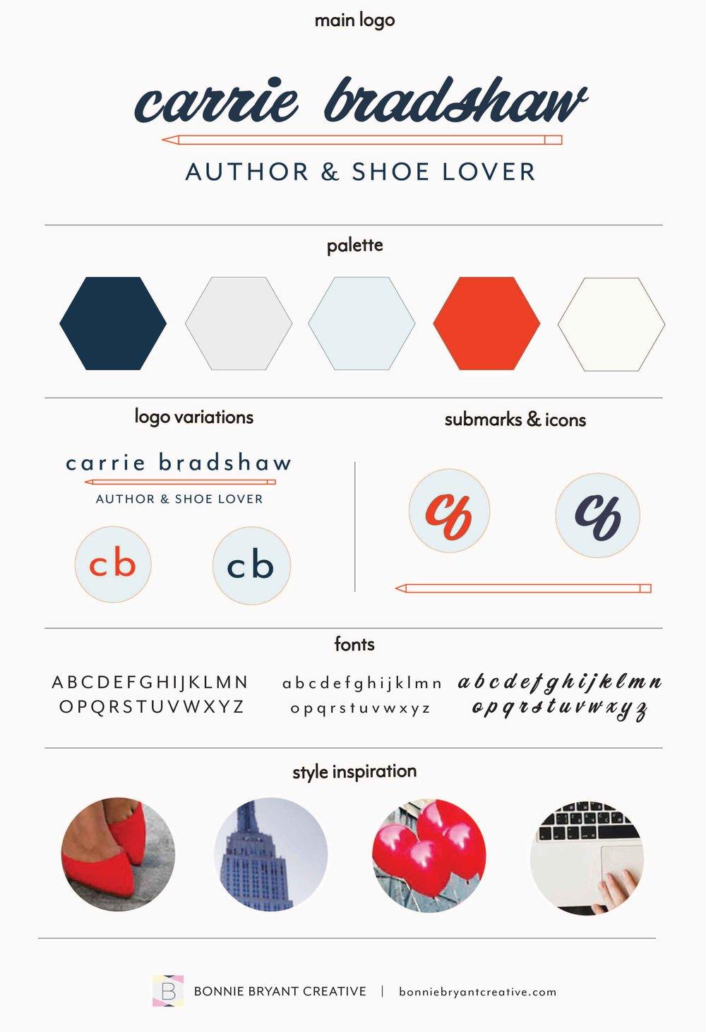 Carrie Bradshaw Brand Board.jpg