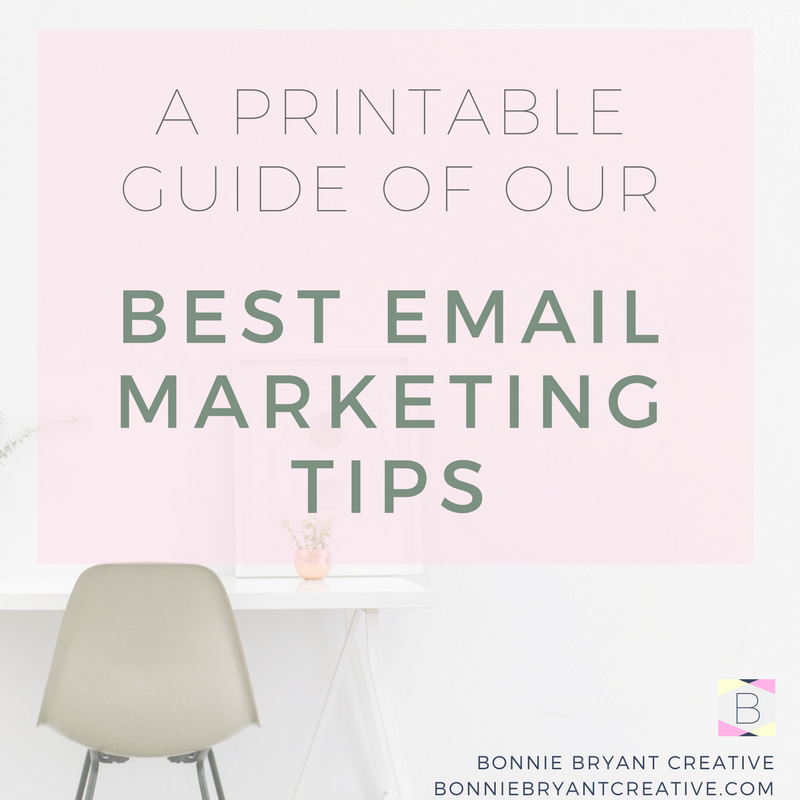 Email marketing | bonniebryantcreative