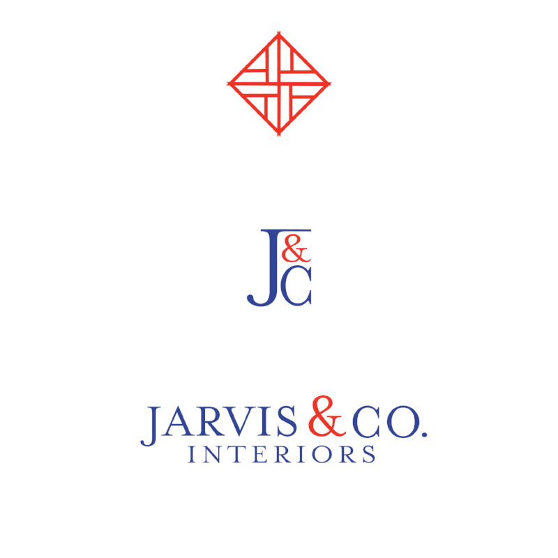 All of the Jarvis & Co. logo variations - I always include a selection to use in different capacities!