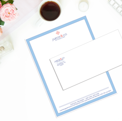 Stationery design by Bonnie Bryant Creative