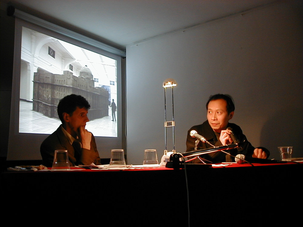 Emilio Fantin, Hou Hanru, 2004